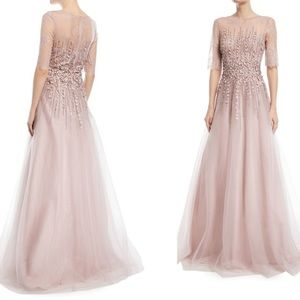 Rickie Freeman Teri Jon wedding formal floral gown